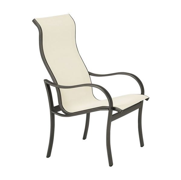 Picture of Tropitone Shoreline Sling High Back Dining Chair, 15.5 lbs.