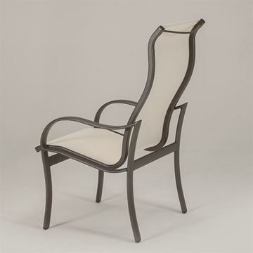 Tropitone Shoreline Sling High Back Dining Chair