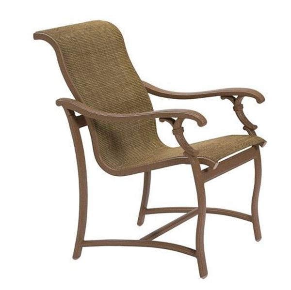 Picture of Tropitone Ravello Sling Patio Dining Chair, 18.5 lbs.
