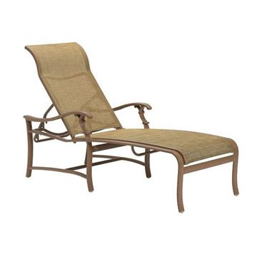 Picture of Tropitone Ravello Sling Chaise Lounge for Hotels, 32.5 lbs.