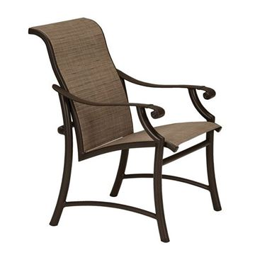 Picture of Tropitone Montreux II Sling Dining Chair, 13.5 lbs.