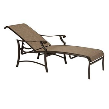 Picture of Tropitone Montreux II Sling Chaise Lounge, 25 lbs.
