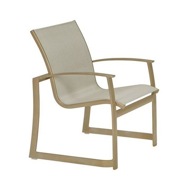 Picture of Tropitone Mainsail Sling Dining Chair, Stackable, For Commercial Pool Deck and Patios, 11.5 lbs.