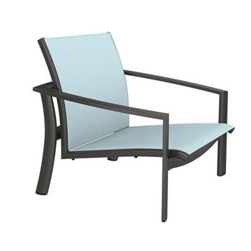 Picture of Tropitone Kor Relaxed Sling Spa Chair, Stackable, 11.5 lbs.