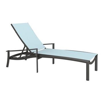Picture of Tropitone Kor Relaxed Chaise Lounge, 28 lbs.