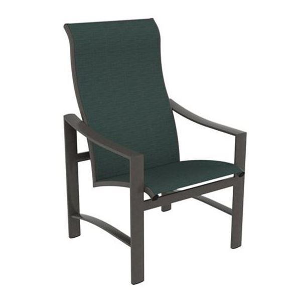 Picture of Tropitone Kenzo Sling High Back Dining Chair with Aluminum Frame, 18 lbs.
