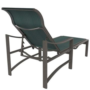 Picture of Tropitone Kenzo Sling Chaise Lounge with Aluminum Frame, 26.5 lbs.