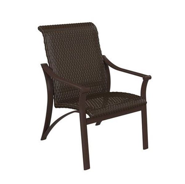 Picture of Tropitone Corsica Woven Dining Chair, 18 lbs.