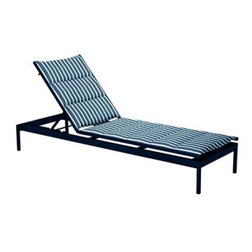 Tropitone Cabana Club Padded Sling Armless Chaise Lounge