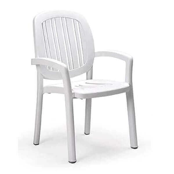 Ponza High Back Plastic Resin Armchair
