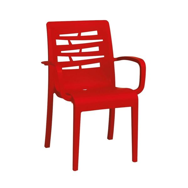Essenza Stacking Arm Chair