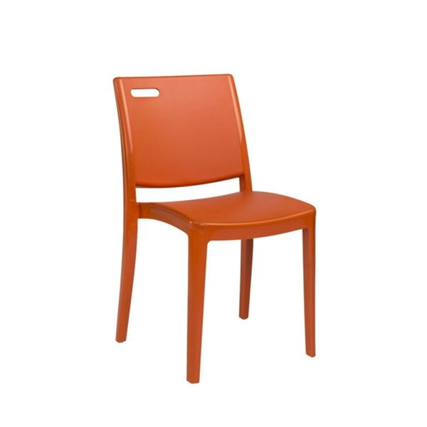 Picture of Metro Commercial Grade Plastic Resin Dining Chair, 9 lbs.