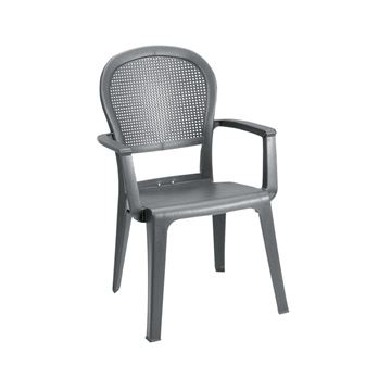 Picture of Seville Plastic Resin Stacking Armchair, 10 lbs.