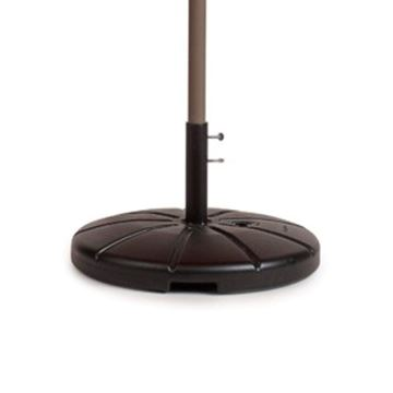 Umbrella Base, 35 Lb for Tables Only, Not For Free Standing Umbrellas with 10 Inch Stem