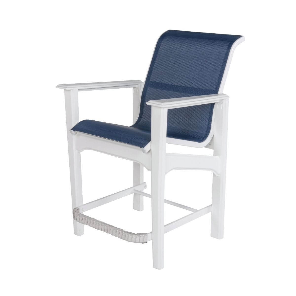 Cape Cod Sling Fabric Balcony Chair With Marine Grade