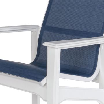 Cape Cod Sling Fabric Balcony Chair