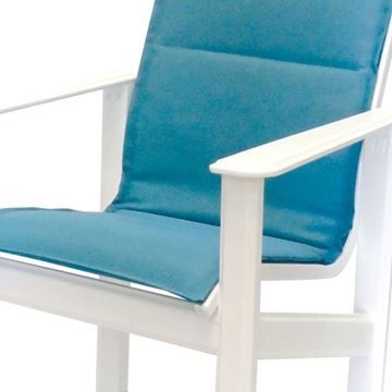 Hampton Balcony Chair Fabric Sling with Marine Grade Polymer Frame