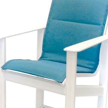 Hampton Bar Chair Fabric Sling with Marine Grade Polymer Frame