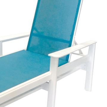 Picture of Hampton Chaise Lounge Fabric Sling with Marine Grade Polymer Frame, 63 lbs.