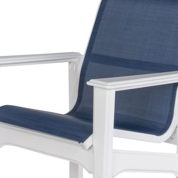 Cape Cod Sling Fabric Bar Chair