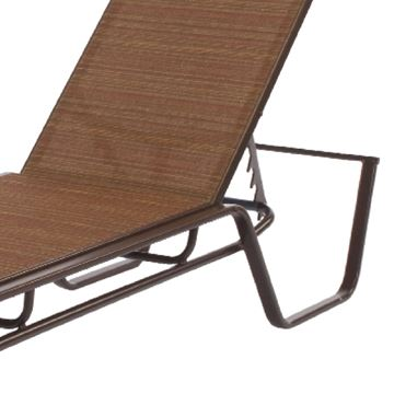 Picture of Monterey Chaise Lounge Fabric Sling with Stackable Aluminum Frame, 25 lbs.