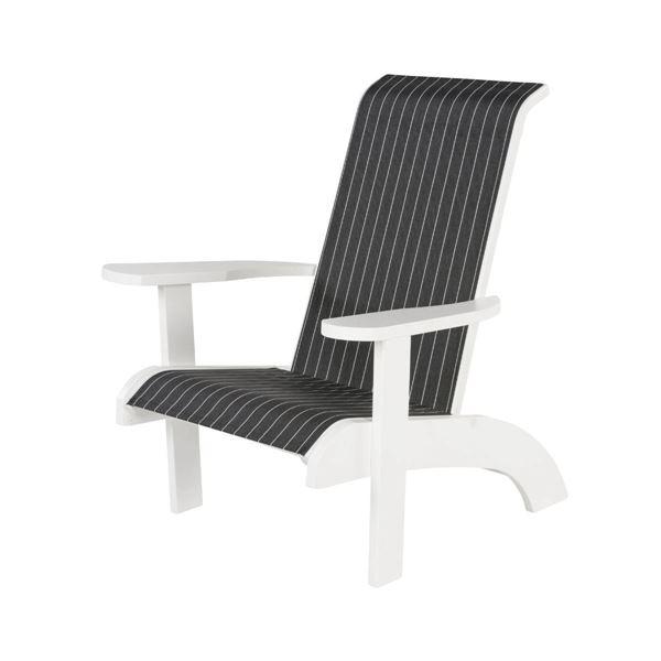 Reclining Sling Adirondack Chair with Marine Grade Polymer Frame