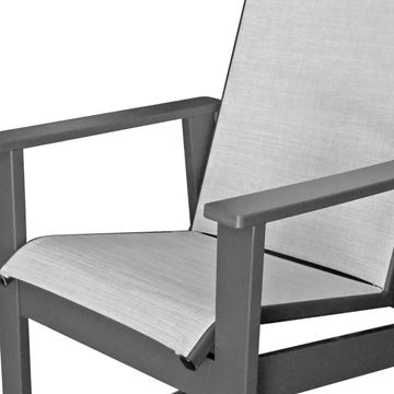 Sienna Balcony Chair Fabric Sling with Marine Grade Polymer Frame