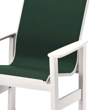 Telescope Leeward Arm Chair Fabric Sling
