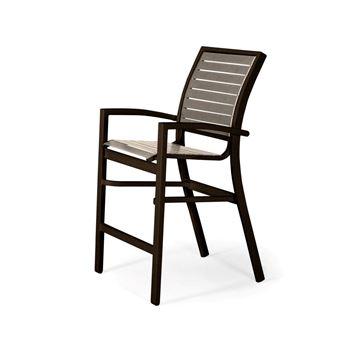 Picture of Telescope Kendall Strap, Balcony Height Stacking Café Chair with Aluminum Frame, 27 lbs.