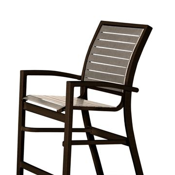 Telescope Kendall Strap, Balcony Height Stacking Café Chair