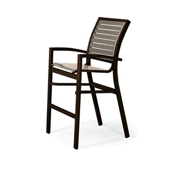 Picture of Telescope Kendall Strap, Bar Height Stacking Café Chair with Aluminum Frame, 29 lbs.
