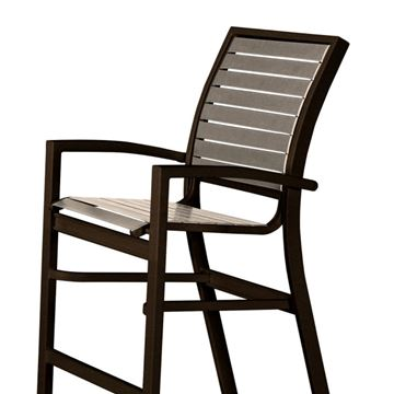 Telescope Kendall Strap, Bar Height Stacking Café Chair