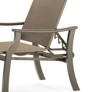 Picture of Telescope St. Catherine Sling Chaise Lounge with Marine Grade Polymer Frame, 38 lbs.