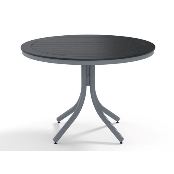 "Telescope 42"" Marine Grade Polymer Round Dining Height Table"