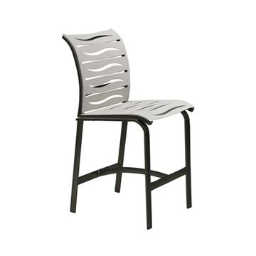 Picture of Tropitone Elance EZ Span Vinyl Strap Armless Bar Stool, 17.5 lbs.
