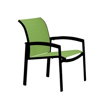 Picture of Tropitone Elance Relaxed Sling Dining Chair, Stackable, 11.5 lbs.