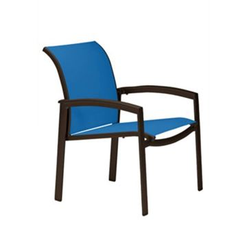 Tropitone Elance Relaxed Sling Dining Chair