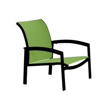 Picture of Tropitone Elance Relaxed Sling Spa Chair, Stackable, 11.3 lbs.