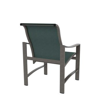Tropitone Kenzo Sling Dining Chair with Aluminum Frame