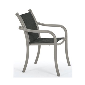 Picture of Tropitone La Scala Relaxed Sling Dining Chair with Aluminum Frame,  10.5 lbs.