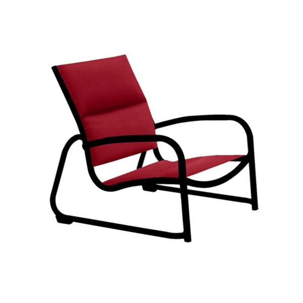Picture of Tropitone Millennia Padded Sling Sand Chair with Stackable Aluminum Sled Base, 9 lbs.