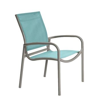 Tropitone Millennia Relaxed Sling Dining Chair