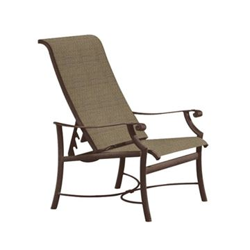 Picture of Tropitone Montreux Sling Dining Chair, 13.5 lbs.