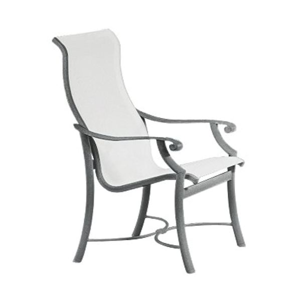 Tropitone Montreux Sling High Back Dining Chair