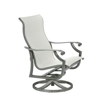 Picture of Tropitone Montreux Sling Swivel Action Lounger, 26.5 lbs.
