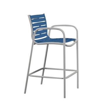 Picture of Tropitone Patio Furniture - Millennia EZ Span Vinyl Strap Bar Stool, 11 lbs.