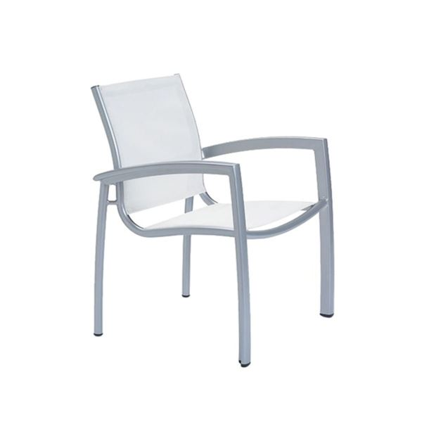 Picture of Tropitone South Beach Relaxed Sling Dining Chair, Stackable, 10.5 lbs.