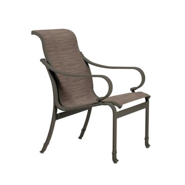 Picture of Tropitone Torino Sling Dining Chair, 13.5 lbs.
