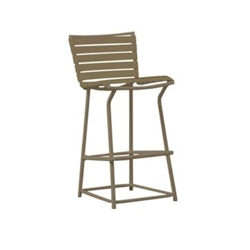 Picture of Tropitone Tropi-Kai Strap Pool Bar Height Chair, 9 lbs.