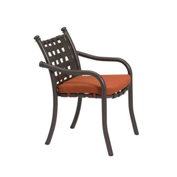 Tropitone La Scala Cross Strap Dining Chair